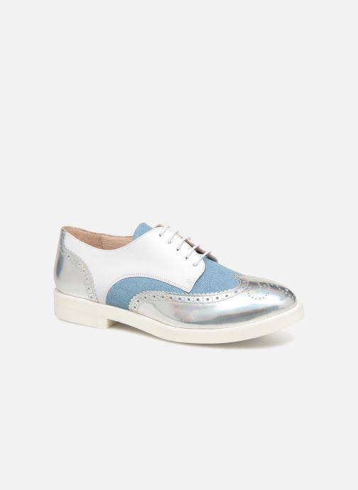 Chaussures à lacets COSMOPARIS ELA Blanc vue détail/paire