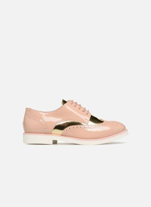Zapatos con cordones COSMOPARIS ELA Beige vistra trasera