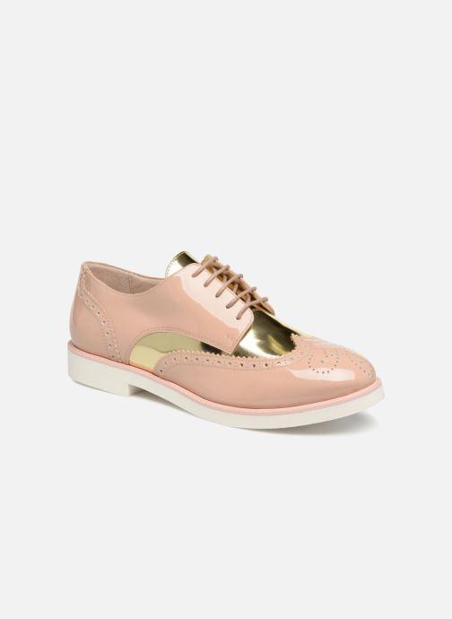 Zapatos con cordones COSMOPARIS ELA Beige vista de detalle / par