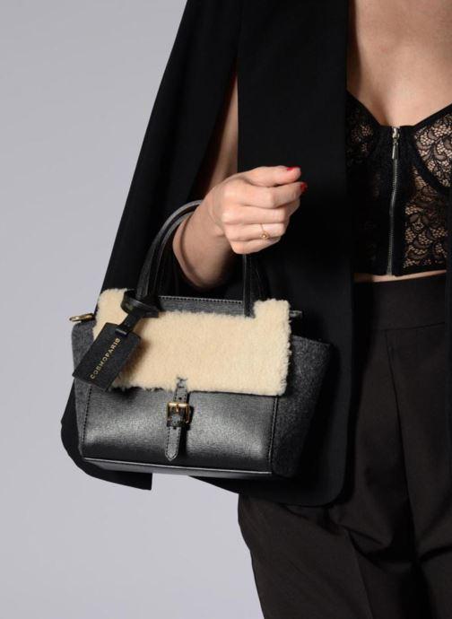 Handbags COSMOPARIS SAC-MEYA Grey view from above