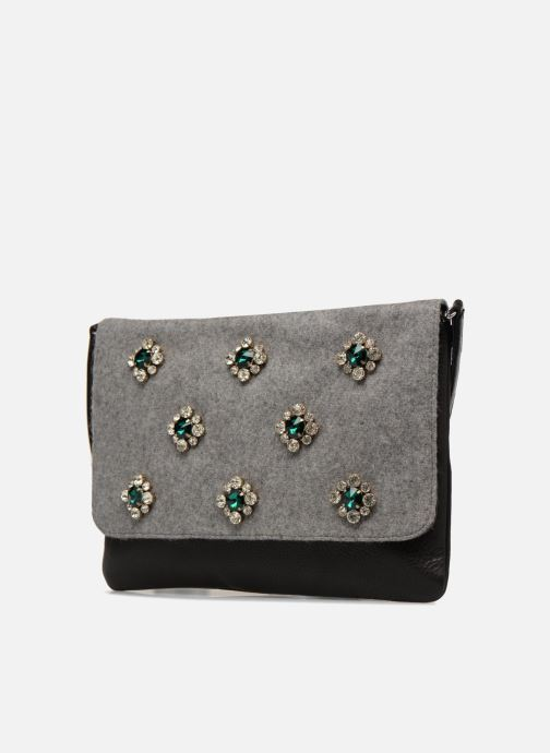 Handbags COSMOPARIS SAC-KRYSTO Grey model view
