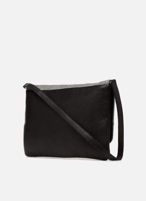 Handbags COSMOPARIS SAC-KRYSTO Grey view from the right