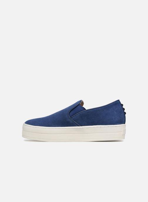 Sneakers Skechers UPLIFT HIGH SUEDECIETY Blå bild från framsidan
