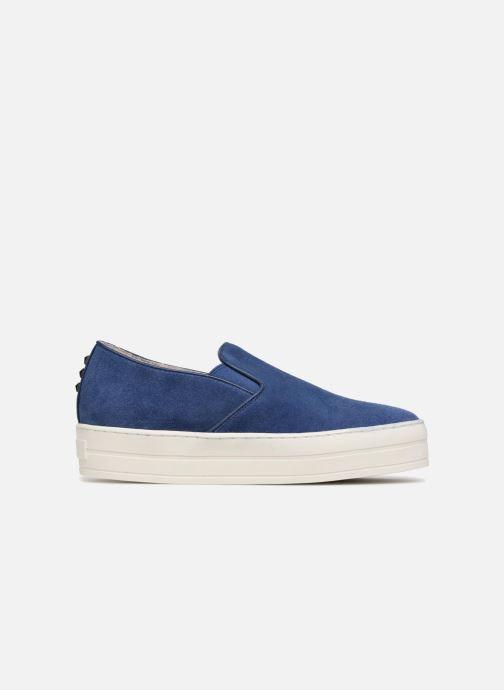 Sneakers Skechers UPLIFT HIGH SUEDECIETY Blå bild från baksidan