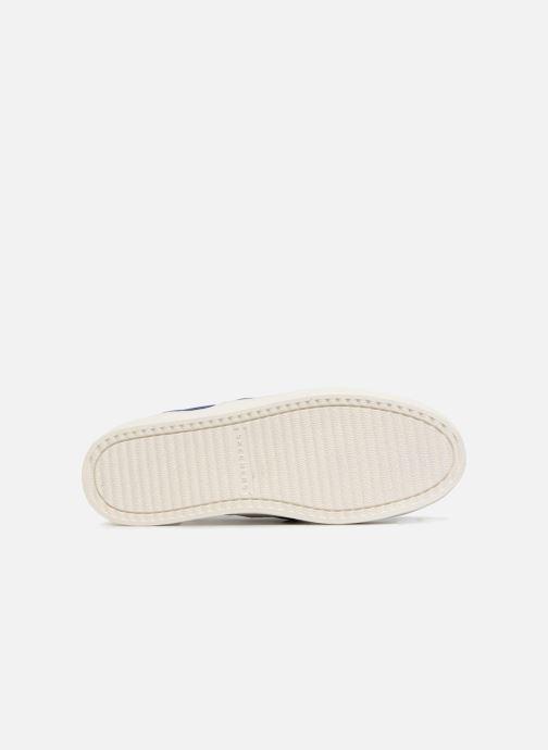 Sneakers Skechers UPLIFT HIGH SUEDECIETY Blå bild från ovan