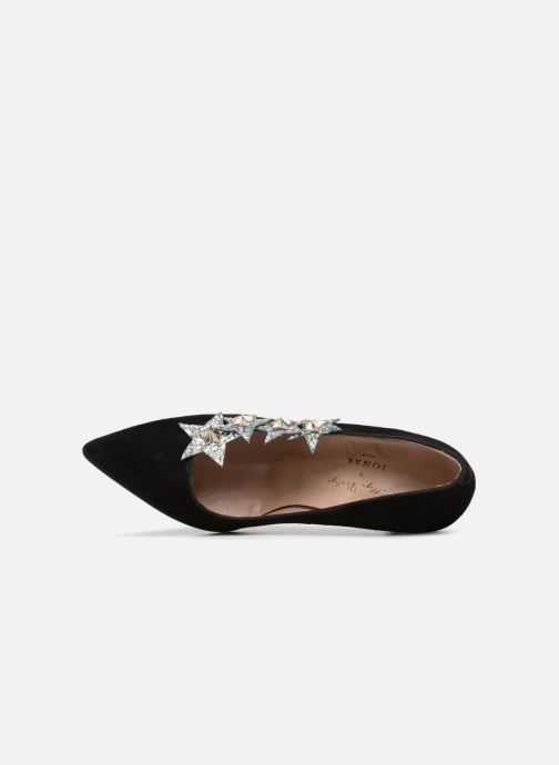 Zapatos de tacón Jonak CUATRO Negro vista lateral izquierda