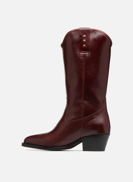 Boots & wellies Jonak TRES Burgundy front view