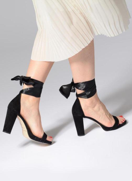 High heels Jonak SEIS Black view from underneath / model view