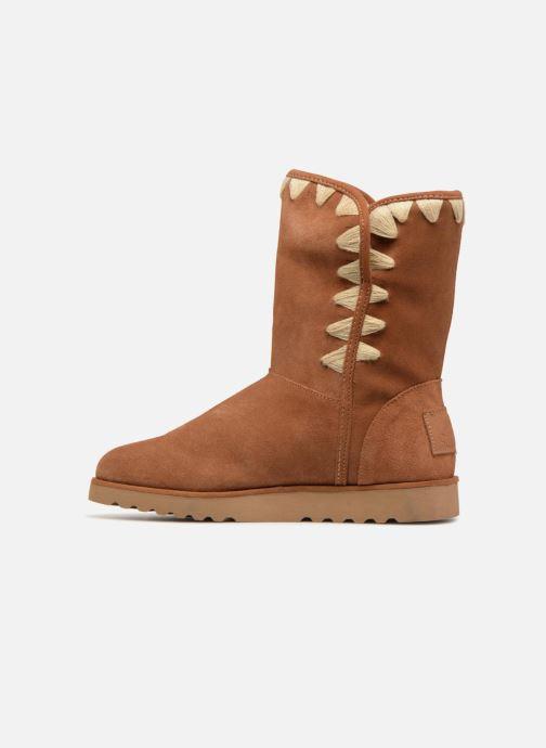 Boots & wellies Les Tropéziennes par M Belarbi Cola Brown front view