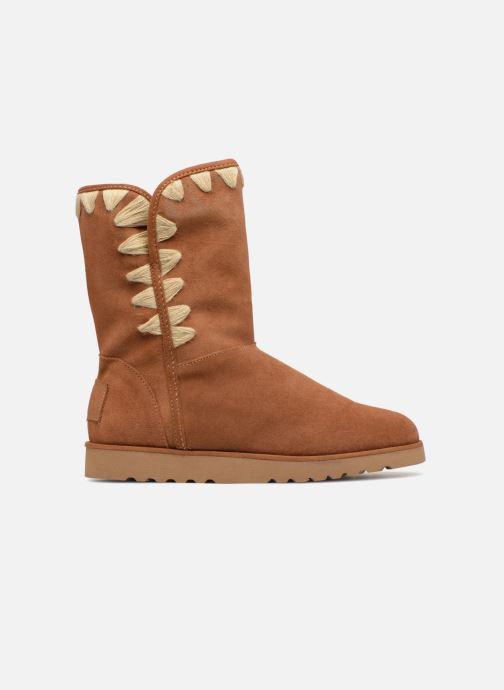 Boots & wellies Les Tropéziennes par M Belarbi Cola Brown back view