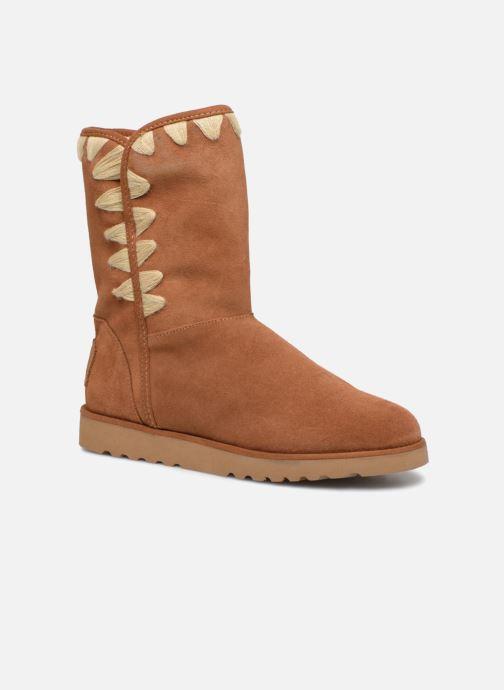 Støvler & gummistøvler Les Tropéziennes par M Belarbi Cola Brun detaljeret billede af skoene
