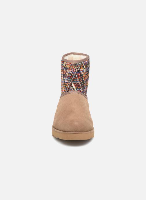 Bottines et boots Les Tropéziennes par M Belarbi Corail Beige vue portées chaussures