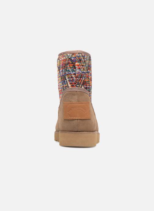 Bottines et boots Les Tropéziennes par M Belarbi Corail Beige vue droite