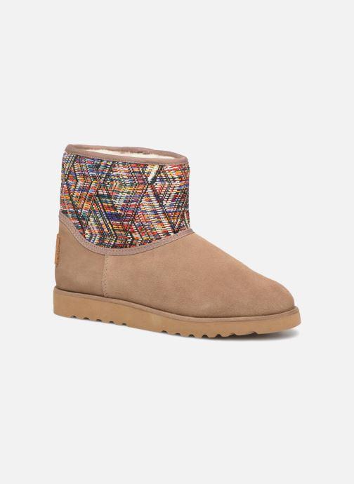 Bottines et boots Les Tropéziennes par M Belarbi Corail Beige vue détail/paire