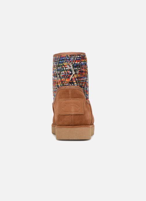 Bottines et boots Les Tropéziennes par M Belarbi Corail Marron vue droite