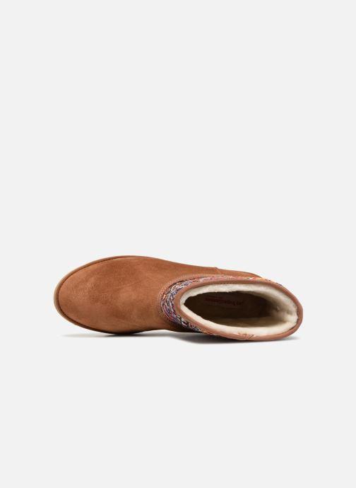 Bottines et boots Les Tropéziennes par M Belarbi Corail Marron vue gauche