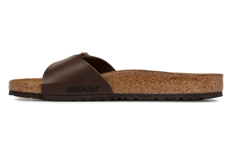 Sandales et nu-pieds Birkenstock MADRID 1 Marron vue face