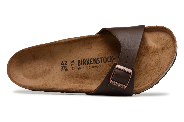Sandalen Birkenstock MADRID 1 braun ansicht von links