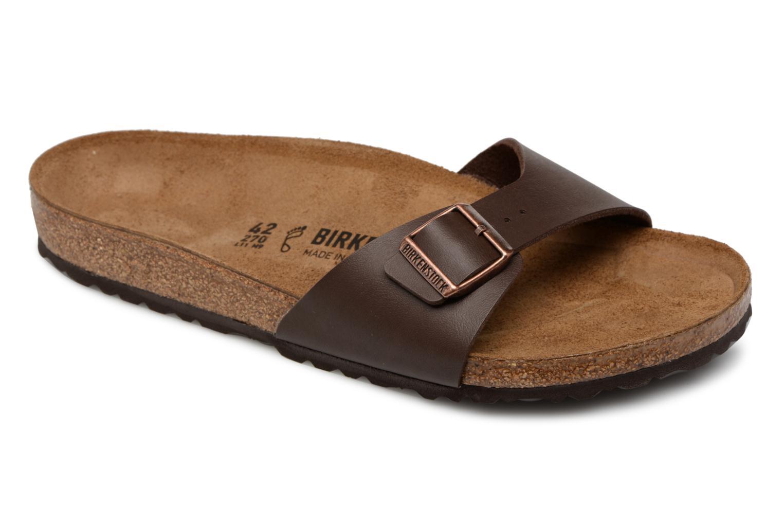 Sandales et nu-pieds Birkenstock MADRID 1 Marron vue détail/paire