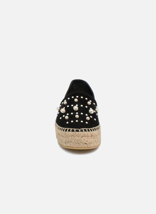 Espadrilles KARL LAGERFELD K/Pearl Espadrilles Noir vue portées chaussures