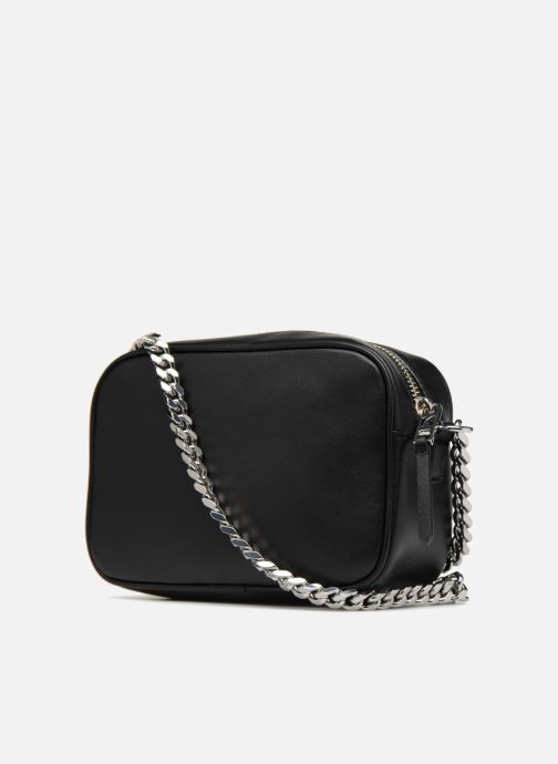 Bolsos de mano KARL LAGERFELD K/Kuilted Sac à Bandoulière Caviar Negro vista lateral derecha