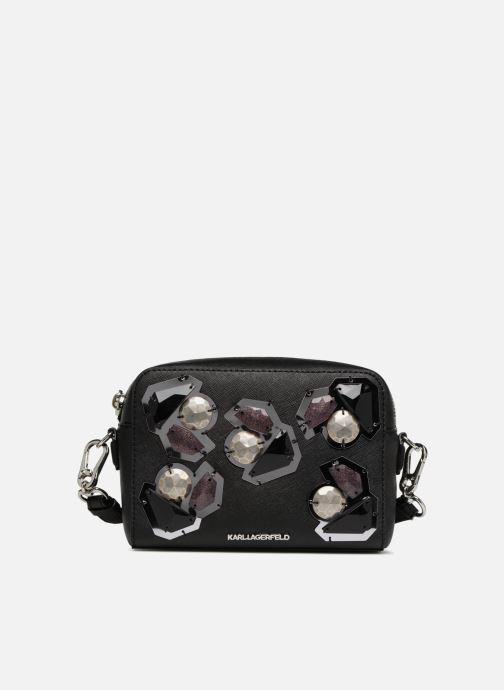 Bolsos de mano KARL LAGERFELD K/Klassic Diamonds Negro vista de detalle / par