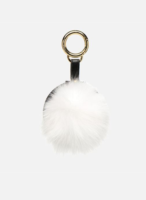 Marroquinería pequeña KARL LAGERFELD Fur Miror Porte-clés Blanc Blanco vista de detalle / par