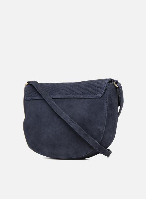 Handbags Petite mendigote FOGGIA Blue view from the right