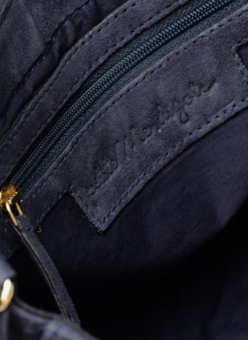 Handbags Petite mendigote FOGGIA Blue back view