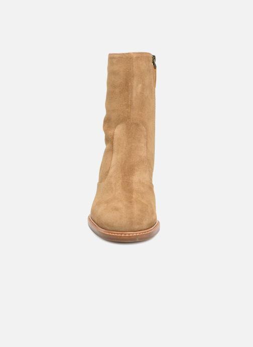 Bottines et boots Veronique Branquinho Bottines à talon Marron vue portées chaussures