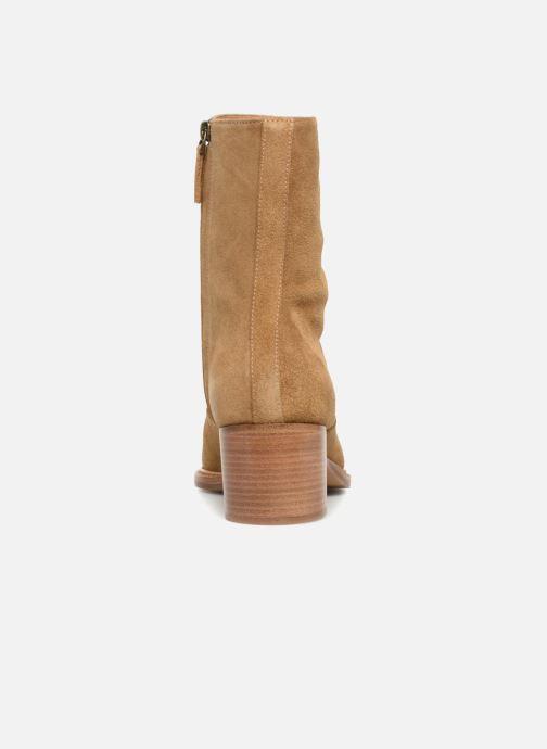 Bottines et boots Veronique Branquinho Bottines à talon Marron vue droite