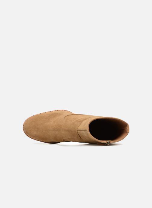 Bottines et boots Veronique Branquinho Bottines à talon Marron vue gauche