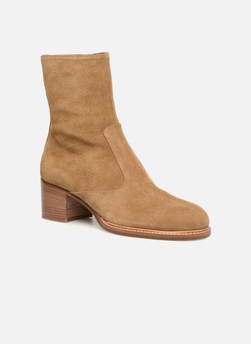 Bottines et boots Veronique Branquinho Bottines à talon Marron vue détail/paire