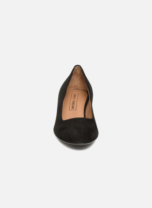 Escarpins Veronique Branquinho Escarpins à petit talon épais Noir vue portées chaussures