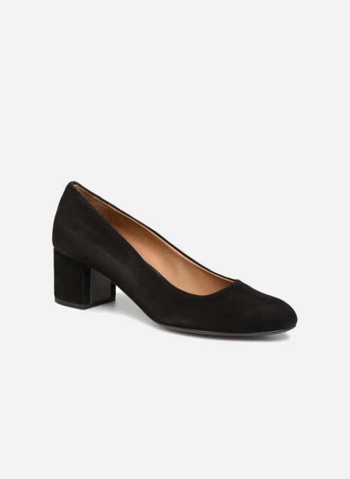 Pumps Veronique Branquinho Escarpins à petit talon épais Zwart detail