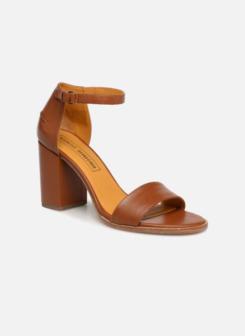 Sandaler Veronique Branquinho Sandales à talon Brun detaljeret billede af skoene