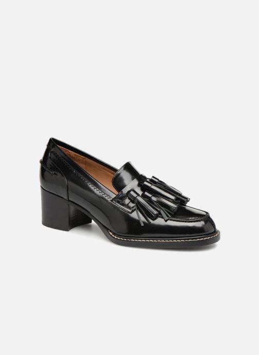 Mocassins Veronique Branquinho Mocassins cuir noir Zwart detail