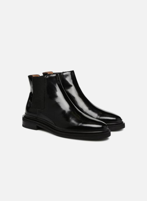 Bottines et boots Veronique Branquinho Bottines chelsea Noir vue 3/4