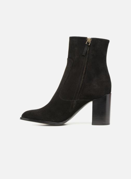 Boots en enkellaarsjes Veronique Branquinho Bottines talon bold Zwart voorkant