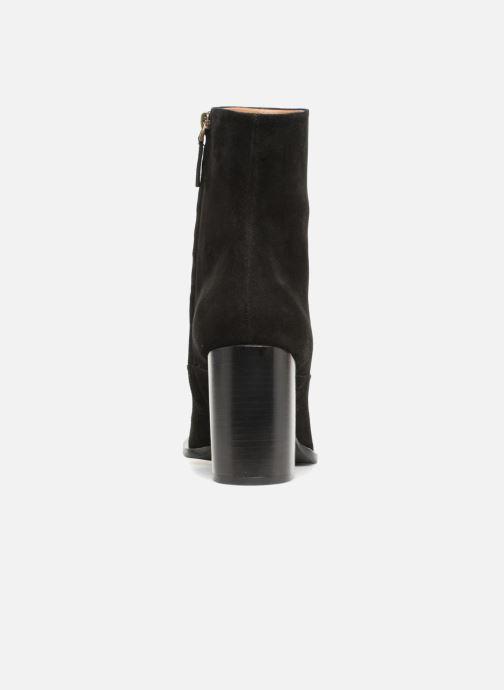Boots en enkellaarsjes Veronique Branquinho Bottines talon bold Zwart rechts