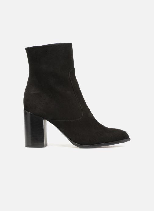 Boots en enkellaarsjes Veronique Branquinho Bottines talon bold Zwart achterkant