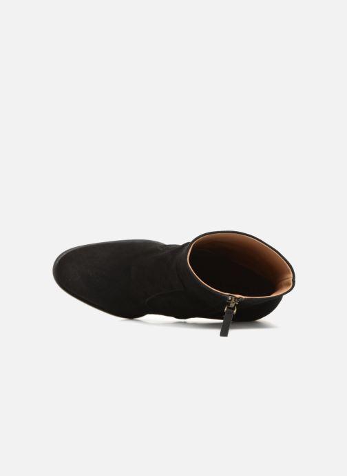 Boots en enkellaarsjes Veronique Branquinho Bottines talon bold Zwart links