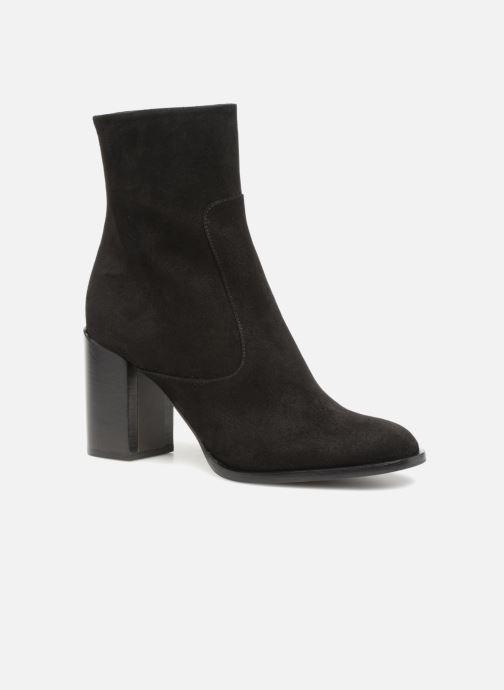Boots en enkellaarsjes Veronique Branquinho Bottines talon bold Zwart detail