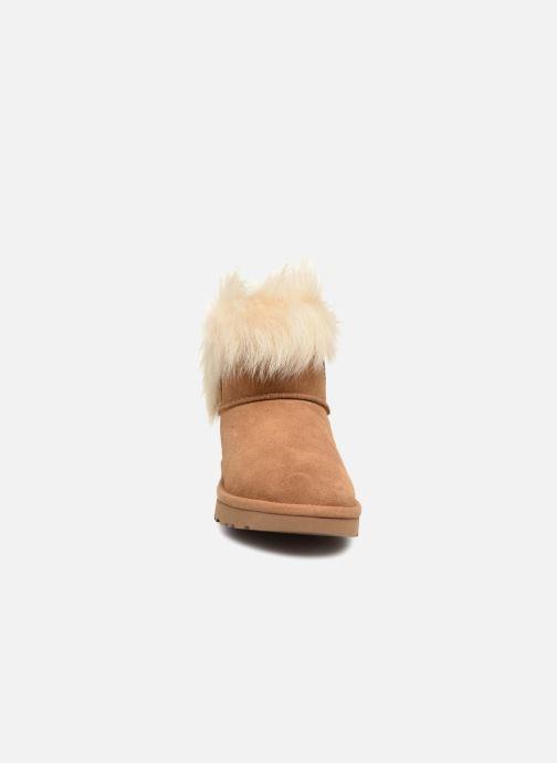 Bottines et boots UGG W Milla Marron vue portées chaussures