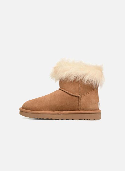 Bottines et boots UGG W Milla Marron vue face