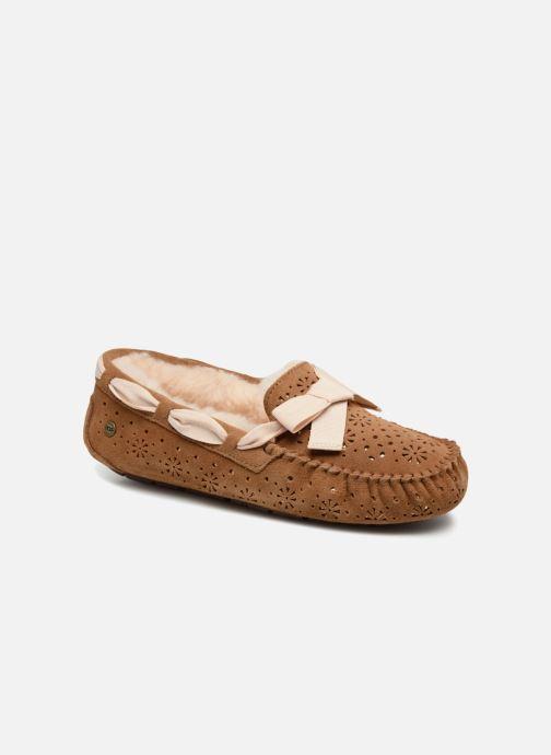 00a5d1ffd63 UGG Dakota Sunshine (Brown) - Slippers chez Sarenza (338661)