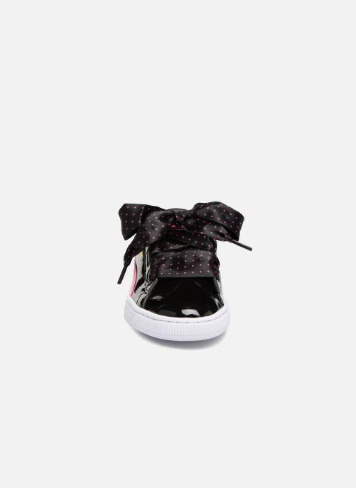 Baskets Puma Basket Heart Stars Noir vue portées chaussures