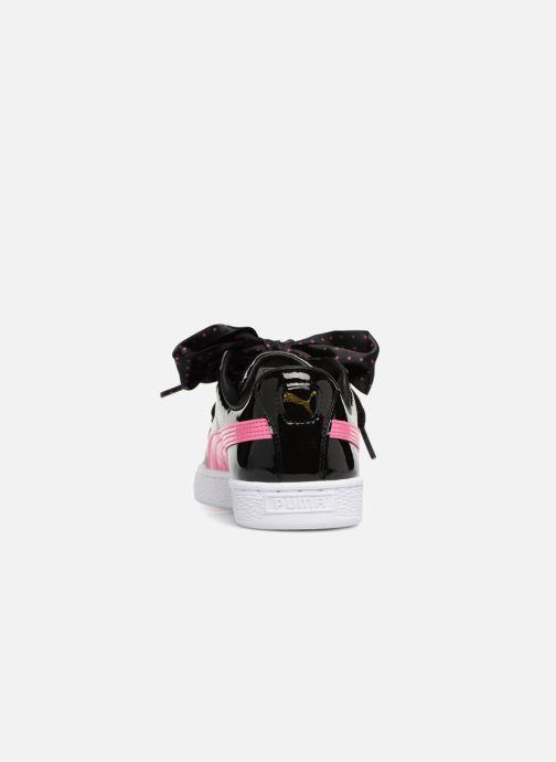 Sneakers Puma Basket Heart Stars Zwart rechts
