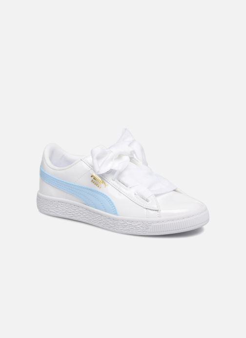 Sneakers Puma Basket Heart Stars Wit 3/4'