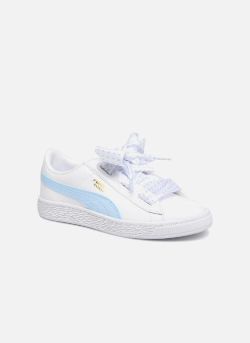 Sneakers Puma Basket Heart Stars Wit detail